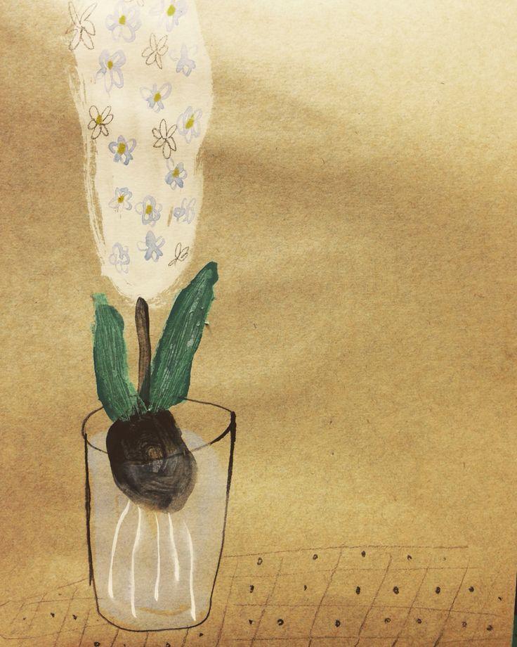 Hyacinth  봄을기다리며
