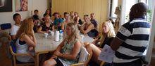 Inden volontører rejser ud med Afrika InTouch modtager de grundig indføring på en uges forberedelseskursus. www.afrikaintouch.dk