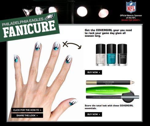 Philadelphia Eagles Fanicure