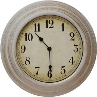 Buy Wall Clock with Arabic Dial - Cream at Argos.co.uk, visit Argos.co.uk to…