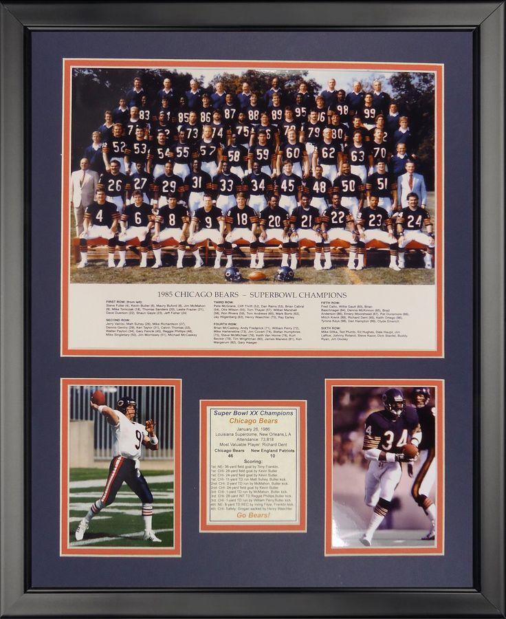 Chicago Bears - 1985 Bears Framed Photo Collage