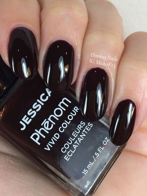 ehmkay nails: Jessica Cosmetics Phenom Colors: Winter 2015 Swatches and Review: First Class