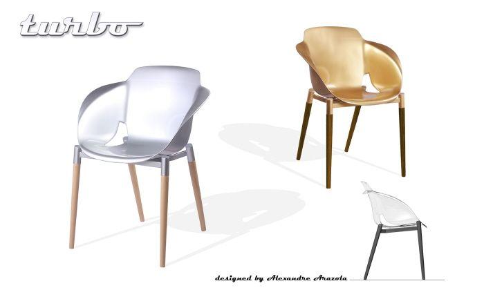 Turbo chair by Alexandre Arazola at Coroflot.com