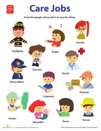 17 Best ideas about Community Helpers Worksheets on Pinterest ...