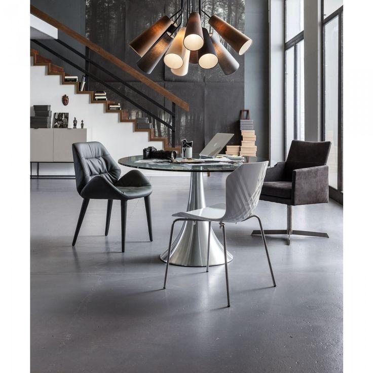 Drehstuhl Dialog Anthrazit - Möbel - KARE Design