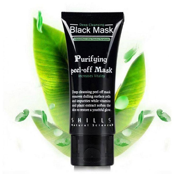 Negro Máscara Facial Máscara Removedor de La Espinilla de Limpieza Profunda Purificación de la Cabeza Negro Tratamientos Del Acné Mascarilla Cuidado de La Piel
