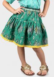 Van Batik  Van Batik Rok Tenun Jepara Hijau