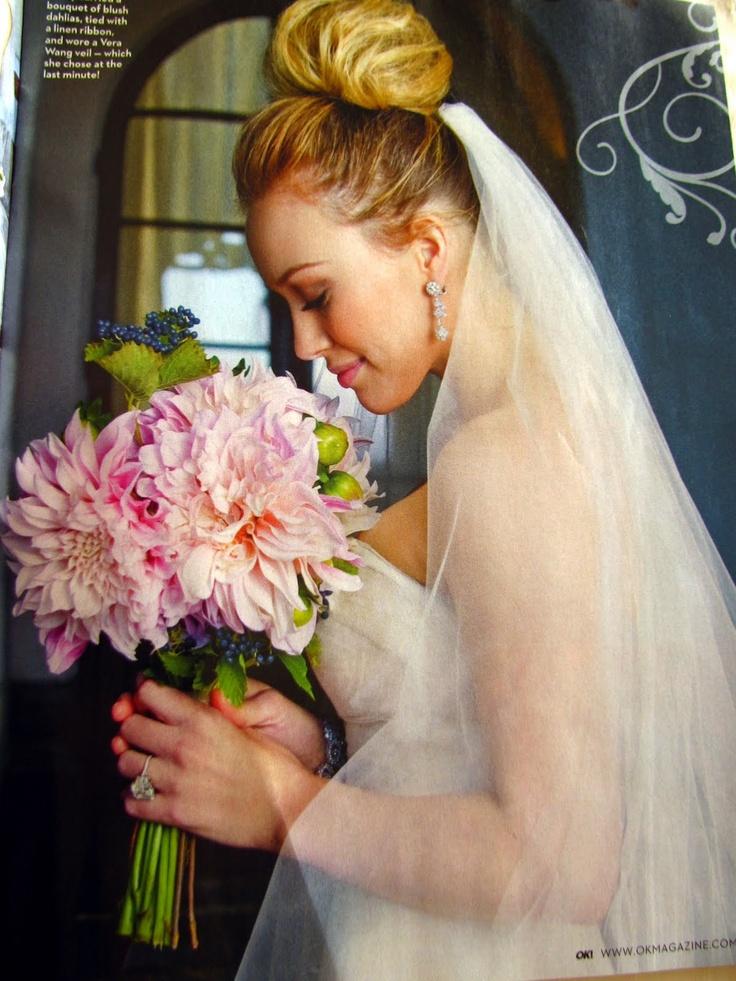Hilary Duff Wedding Hair