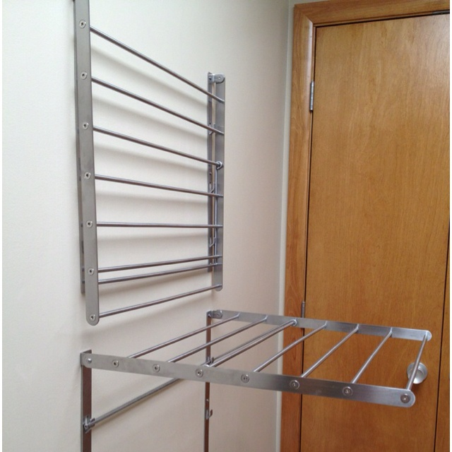 ikea grundtal wall drying rack
