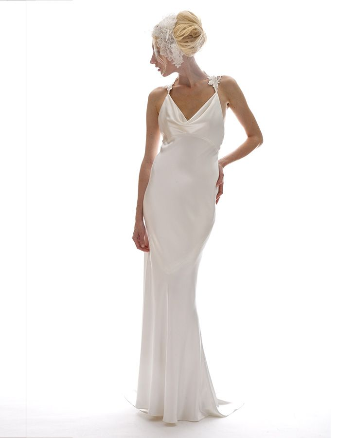 Elizabeth fillmore sandrine wedding dress