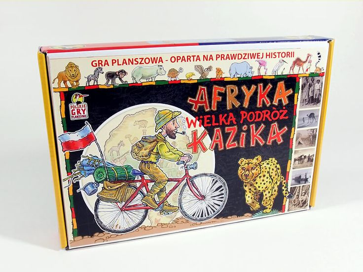Gra planszowa - Afryka - Wielka Podróż Kazikaaa