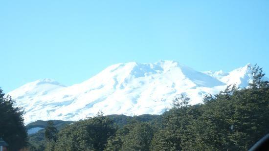 Tongariro - Mount Ruapehu - Skilift naar  de top van de berg ($25)