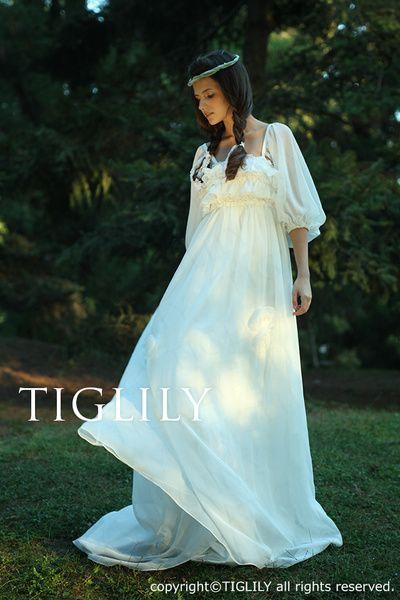TIGLILY(ティグリリィ) ウエディングドレス(w1109)