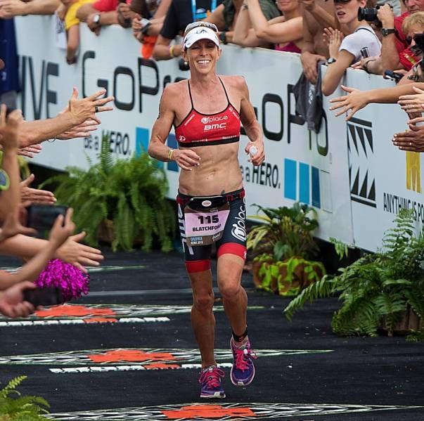 Uplace-BMC Triathlon team member Liz Blatchford at the Ironman World Championship in Kona, Hawaii 2015