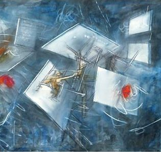 Roberto Matta - Ardeur de l'eau - 1958