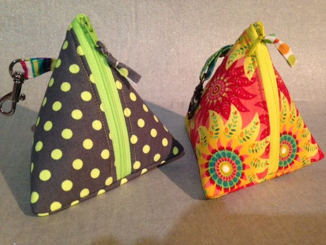 Triangle Pouches