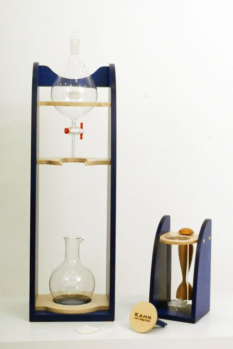 Dutch Coffee Maker - water drip coffee maker ( with wood tamper )