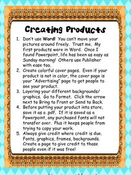 How To Create Products {FREE}