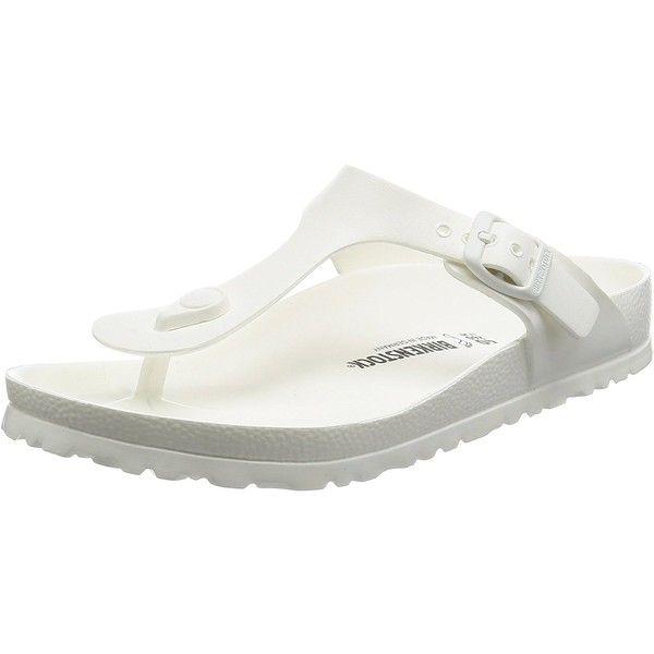 Amazon.com | Birkenstock Womens Gizeh EVA Sandals | Flip-Flops ($30) ❤ liked on Polyvore featuring shoes, sandals, flip flops, birkenstock, birkenstock shoes, birkenstock flip flops, birkenstock sandals and birkenstock footwear