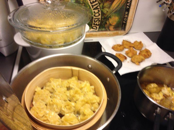 My own version( Steam & fried siomai)☺️