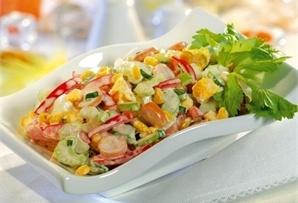 Sałatka z selerem naciowym/ Salad with celery  www.winiary.pl