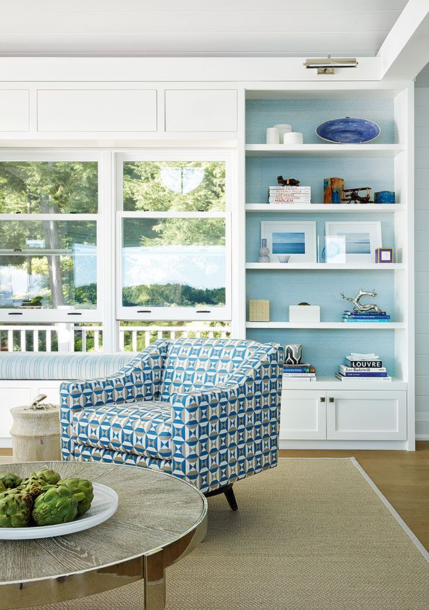 find your cottage style 25 beachy spaces with coastal charm house rh pinterest ca