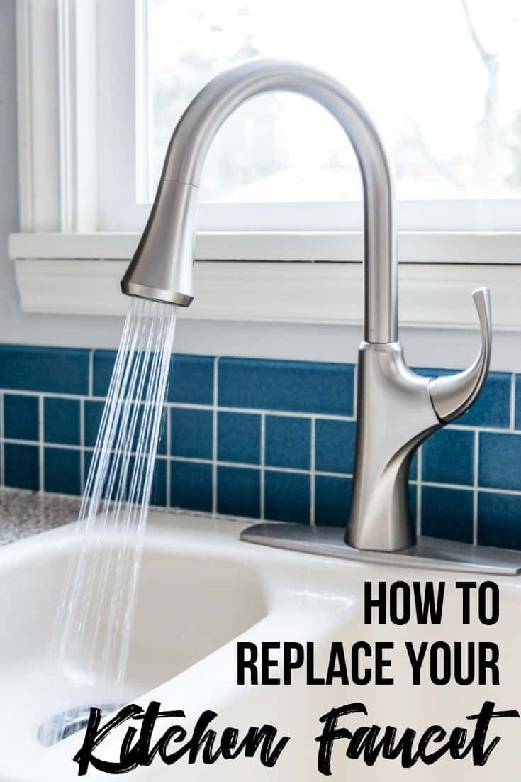 how to change a kitchen faucet and soap dispenser handy tips diy rh pinterest com