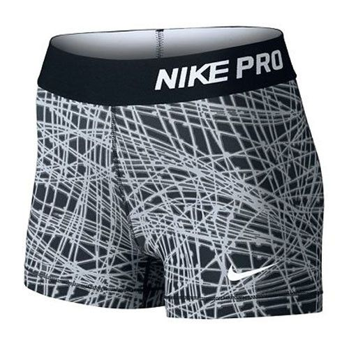 "Women's Nike Pro 3"" Cool Tracer Short You just found your ideal base layer for high intensity training and competition with the Women's Nike® Pro 3"" Cool Tracer Short. Get loads of stay-dry comfort fr"