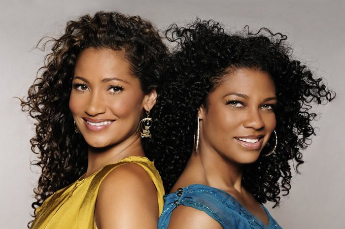 Wendy & Kim are beautiful birracial women who came up with brilliant hair products for women with naturally curly hair!