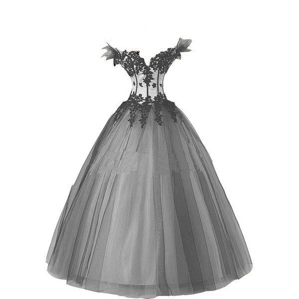 Polyvore white lace dress