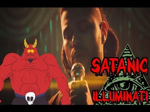 The Weeknd Can't Feel my Face - ADMITS HE SOLD HIS SOUL TO THE DEVIL IN A SUBLIMINAL MESSAGE - YouTube
