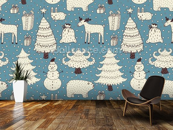 The 47 best Christmas Decoration Ideas images on Pinterest Wall