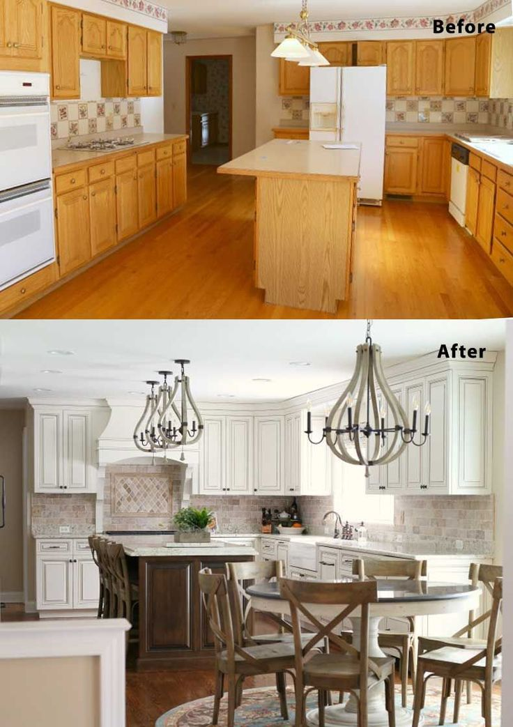 Kitchen designs and remodeling ideas for both