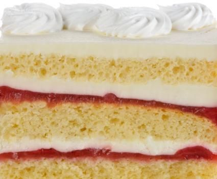 Recipes For White Cake With Raspberry Filling