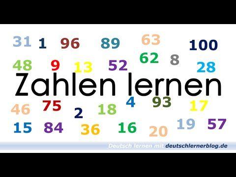 Zahlen lernen 1-100 / German numbers / números en alemán