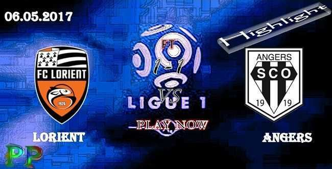 Lorient 1 - 1 Angers HIGHLIGHTS