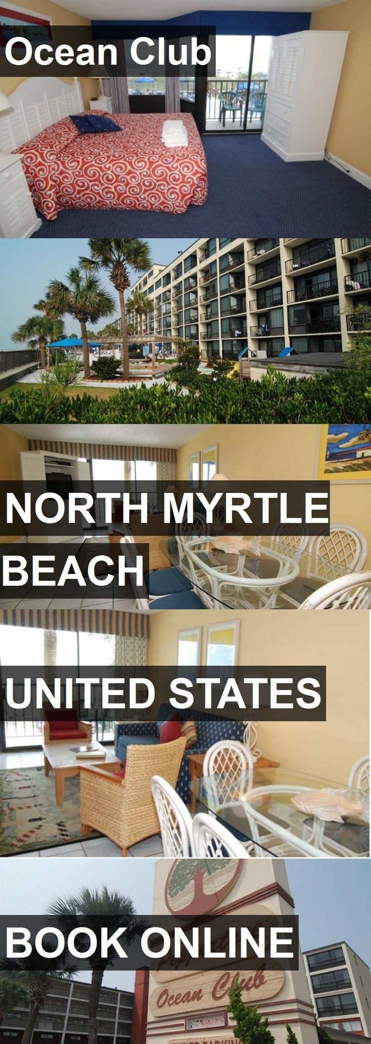 Hotel Ocean Club in North Myrtle Beach, United States. For more information, photos, reviews and best prices please follow the link. #UnitedStates #NorthMyrtleBeach #travel #vacation #hotel