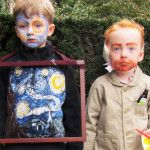 Starry Night and Vincent van Gogh Halloween Costumes Starry Night and Van Gogh Halloween Costume by Libby Chisholm Fearnley