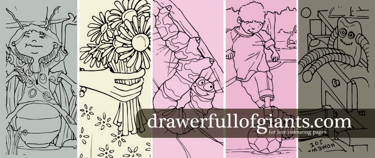 Grab a cuppa, give the kids a colouring page and enjoy 20 minutes of peace   from Drawer Full of Giants You're welcome :)