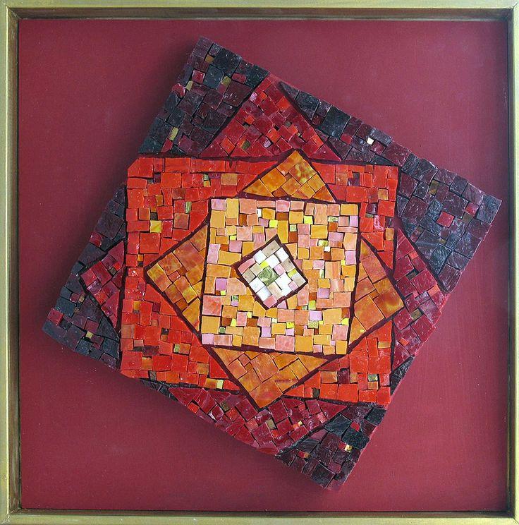 Red Squares, Marian Shapiro