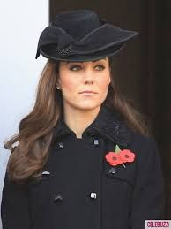 Kate Middleton on Remembrance Day