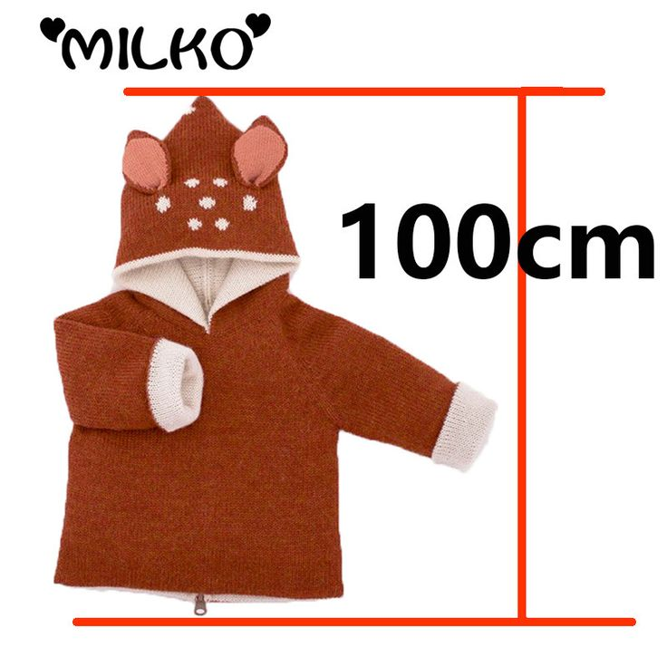 Baby Sudaderas For Girl Boy Clothes Winter 2015 Casual Oeuf Nyc Kids Knitwear Deer Jumper Cute Children Sweater Jacket Cardigan