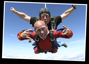 #2 Skydive... (but with a professional.. in case I pass out someone has to pull the cord)