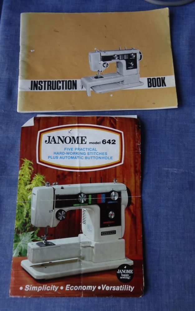 Original Owners Instruction Manual For Janome Model 40 Sewing Delectable Instruction Manual For Janome Sewing Machine