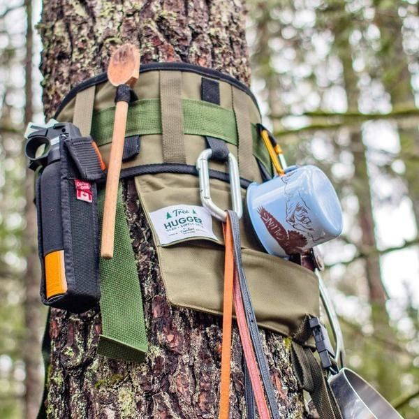 A tree-hugging organizer for all your kitchen tools and camping gear. | 19 Impossibly Cool Gifts That'll Make You Want To Go Camping