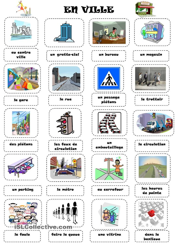 35 best fle vocabulaire ville commerces images on