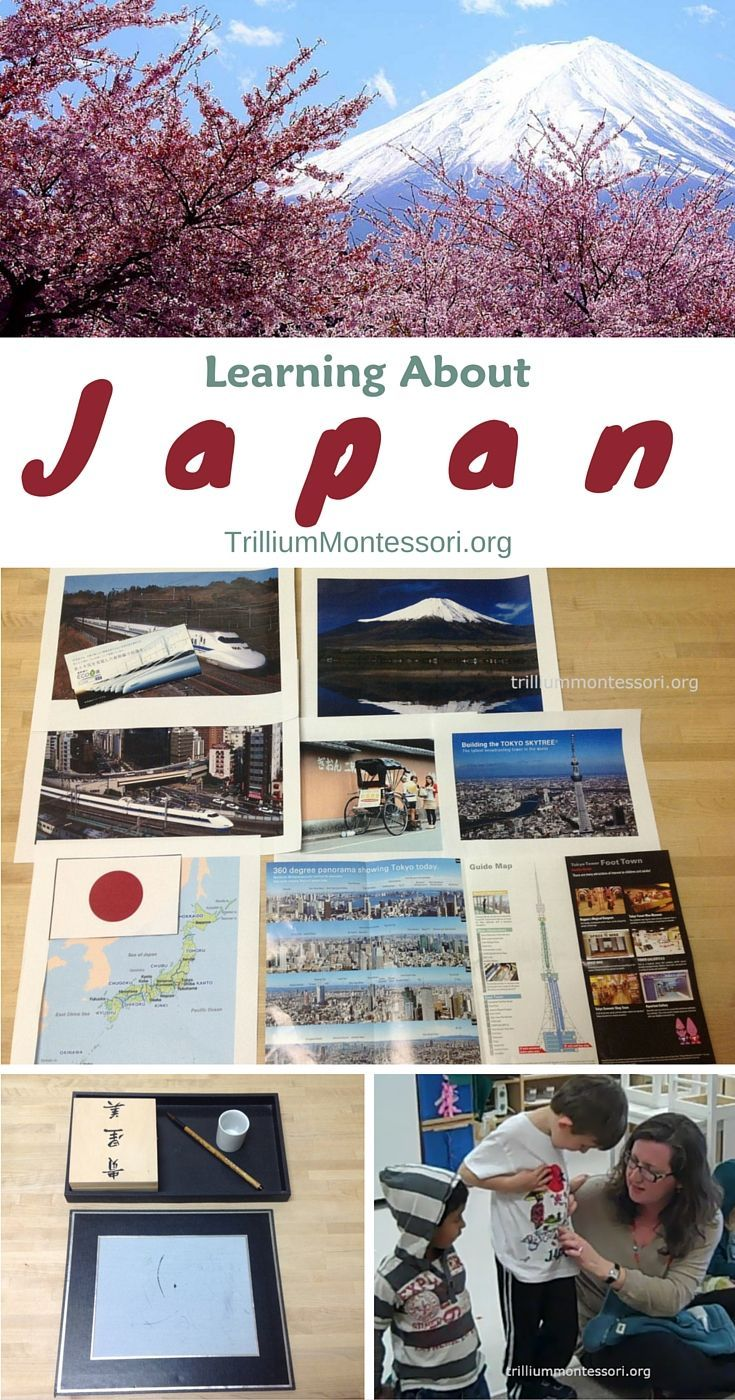 Learning About Japan in Our Montessori Class