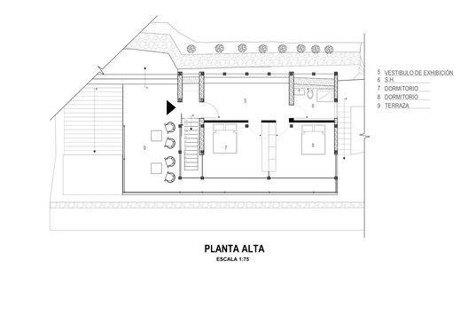 Stone House,Plan