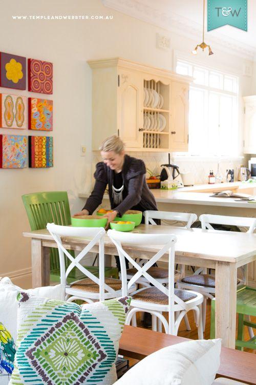 We visit Temple & Webster member Jacoline at her Sydney home. Image - Maya Vidulich. Styling - Jessica Bellef. More on the Temple & Webster blog: http://blog.templeandwebster.com.au