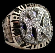 2000 World Series Championship Ring